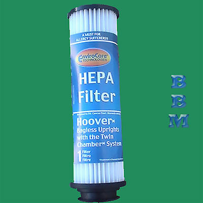 Hoover Hepa Cartridge Filter - 1 HEPA Allergy Cartridge Filter 40140201 43611042 42511049 Hoover Bagless Saavy