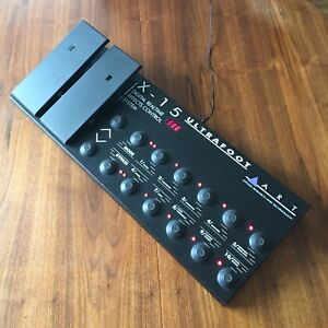 ART X-15 Ultrafoot MIDI effects controller pedalboard