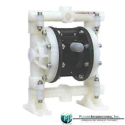 Tf 12 Chemical Resistant Pp Double Air Diaphragm Pump