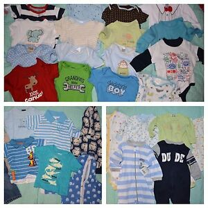 Large lot of 0-3 months baby boys
