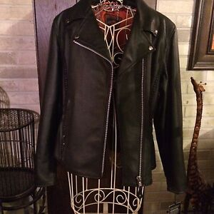 LADIES RIDING LEATHER JACKET