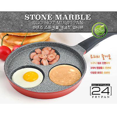 Queen Sense Stone Marble Coating Egg Hot Multi Pan