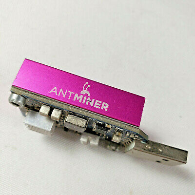 Used, Antminer Bitmain U1 USB Upgraded Bitcoin ASIC Miner with rare Overclock Heatsink for sale  Shipping to South Africa