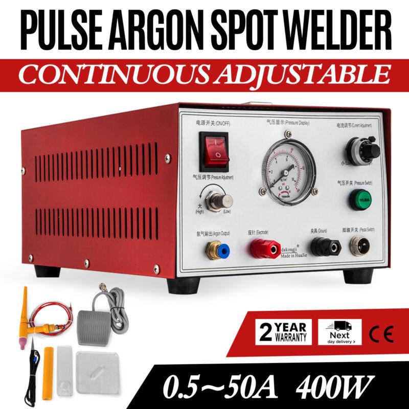 VEVOR New Pulse Argon Protection spot welder 400W Jewelry Gold Silver Platinum