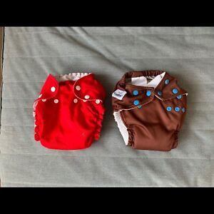 One Size Cloth Diaper (Fuzzibunz and Charlie Baby)
