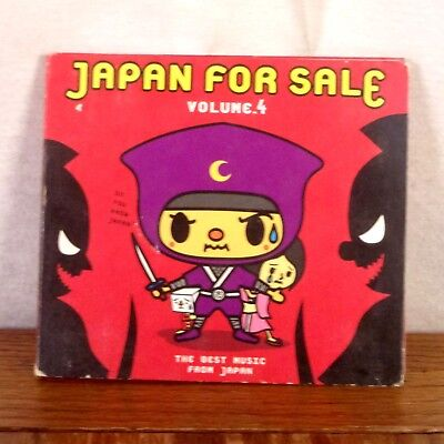 Japan for Sale Volume 4 The Best Music from Japan CD Album 2004 TOFU Guitar