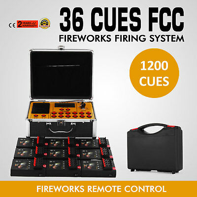 36 cues Wireless Fireworks Firing system remote control fire control equipment