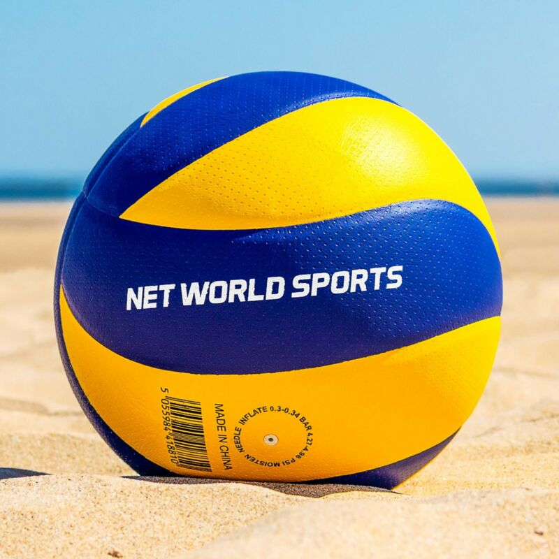 Socketed Volleyball Posts Net World Sports + 32ft Net Option