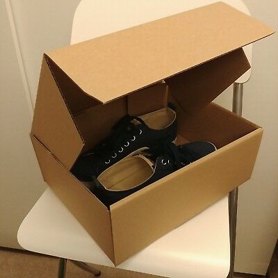 7 x Cardboard Shoe Boxes - 310x240x115mm Postal Shipping Box