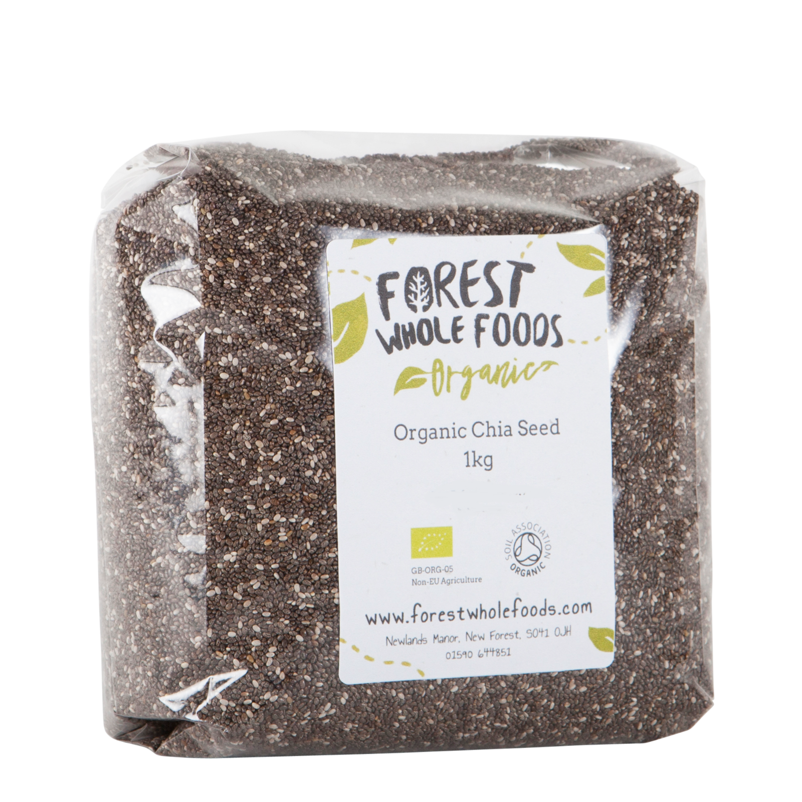 Forest Whole Foods Organic Chia Seed
