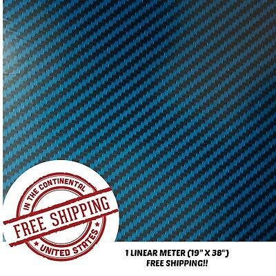 Hydrographic Water Transfer Hydro Dipping Dip Film Carbon Fiber B 1m 19x38