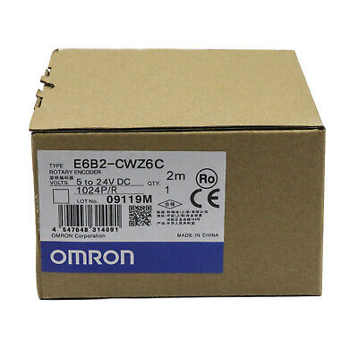 Omron E6b2-cwz6c 1024pr Rotary Encoder 5-24v New One Year Warranty