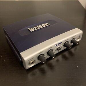 Lexicon Alpha USB Audio Recording Interface
