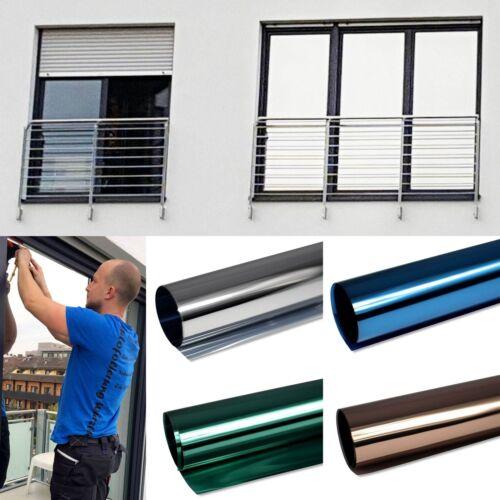 4,92€/m² Spiegelfolie Fensterfolie Spiegel Folie Fenster UV Sichtschutzfolie