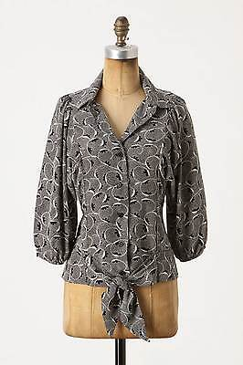 New Anthropologie Aurinia Blouse By Maple Sz 12
