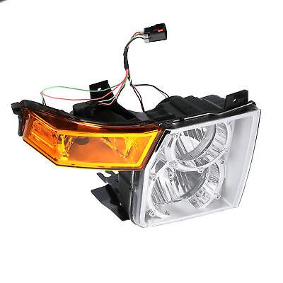 2006-2010 JEEP COMMANDER HALOGEN HEADLIGHT LAMP ASSEMBLY LEFT DRIVER SIDE
