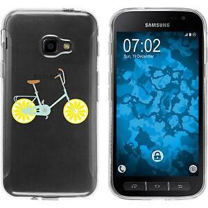 Galaxy-Xcover-4-Custodia-in-Silicone-Bike-Motif-5-Case