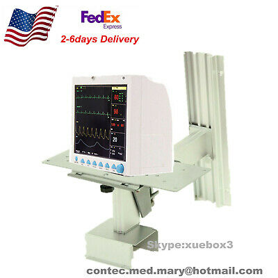 Wall Monitor Stand Fixed Bracket For Vital Signs Icu Patient Monitor Usa Seller