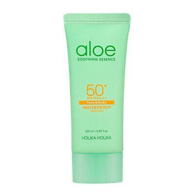 Holika Holika Aloe Waterproof Sun Gel SPF 50+ PA++++ 100ml