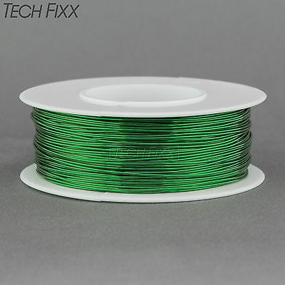 Magnet Wire 24 Gauge Awg Enameled Copper 198 Feet Coil Winding And Crafts Green