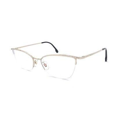 Versace V 1261-B Silver Women Prescription Glasses Frame Eyeglasses 3G2