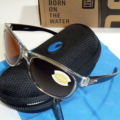 Costa Del Mar Prop Polarized Sunglasses - Black Pearl Frame / Copper 580P (Costa Prop Sunglasses)