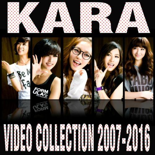 KPOP  Memorabilia KARA Collection  2007 to 2016