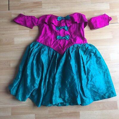 Custom Made Princess Fairy Christmas Panto Dress Size 12/14