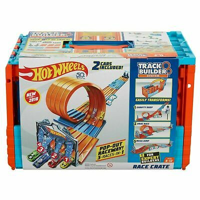 Hot Wheels Action Race Crate Track Pack Set Build 3 sets