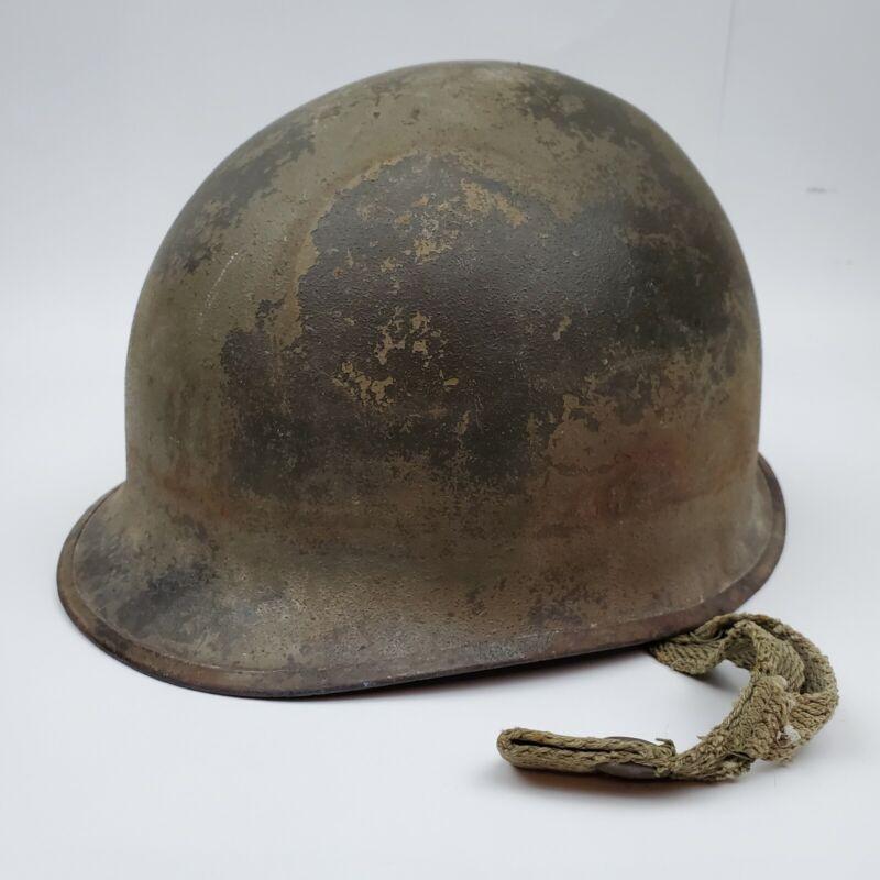 Vintage Antique WW11 US Army Military Helmet No Liner included, Original Straps