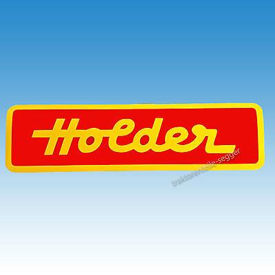Holder Schriftzug - Aufkleber klein Traktor Schlepper 01534