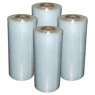 4 Rolls Hand Stretch Wrap Film Banding 18 X 1500 11.5 Micron Usa Made