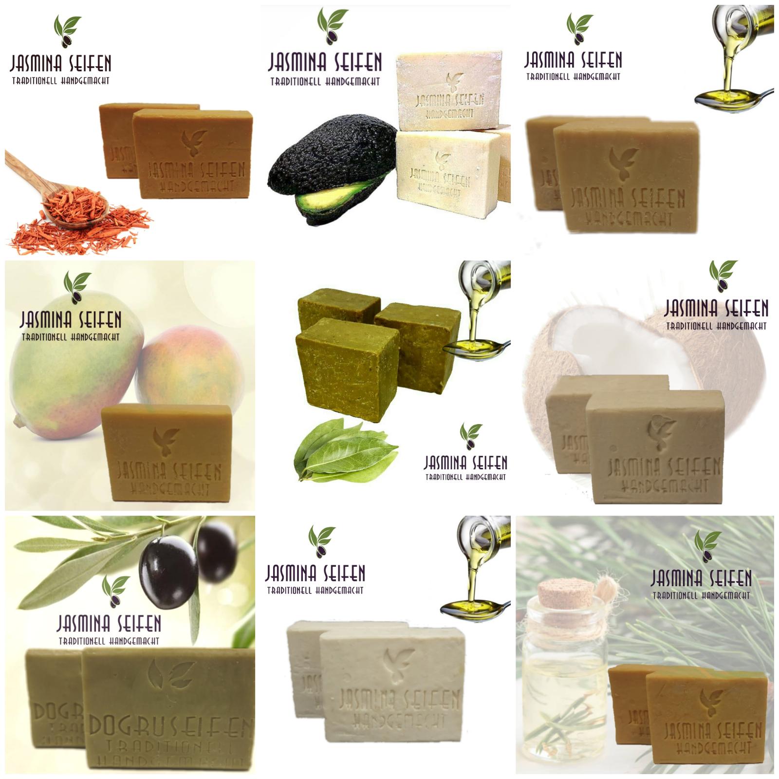 Naturseife - Handgemacht mit wertvollen Inhaltsstoffen aus der Natur - vegan 🌿