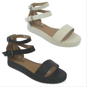 fa261a57342b Flat Platform Sandals