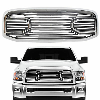 For 06-09 Dodge RAM 2500 Front Hood Chrome Big Horn Grille Replacement Shell