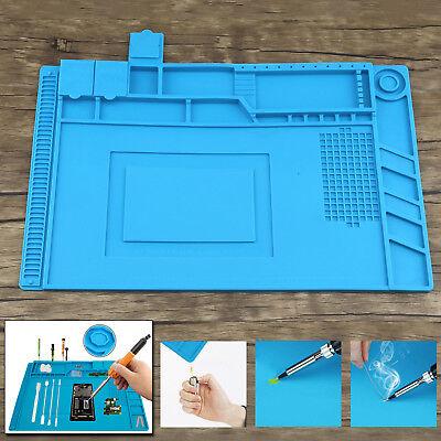Soldering Repair Station Heat-resistant Silicone Pad Heat Insulation Desk Mat