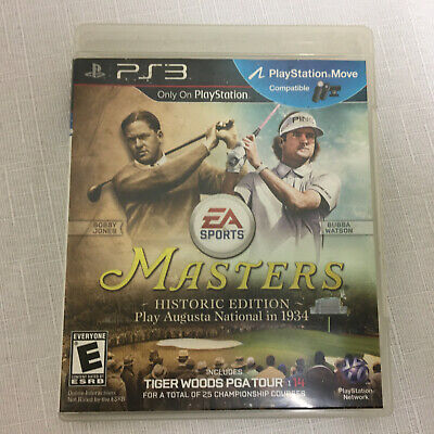 Tiger Woods PGA Tour 14 -- Masters Historic Edition PS3 Sony PlayStation 3, 2013