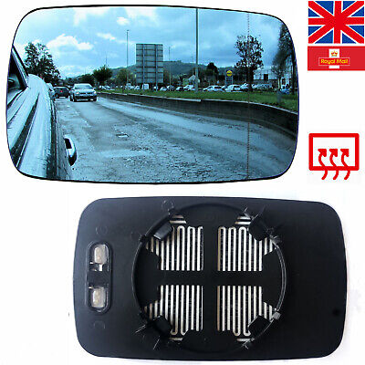 Driver side Clip Convex wing mirror glass for Nissan JUKE 10-14