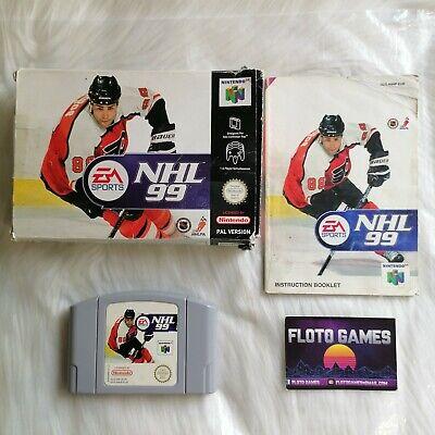 Jeu NHL 99 pour Nintendo 64 N64 PAL EUR Complet CIB - Floto Games