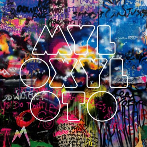 COLDPLAY Mylo Xyloto BANNER HUGE 4X4 Ft Fabric Poster Tapestry Flag album cover