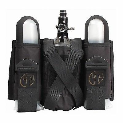 NEW Tippmann Sport Series Paintball 2+1 Pod Tank Harness Remote Pack FREE SHIP