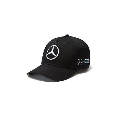2018 OFFICIAL F1 Mercedes AMG Petronas Adults Team Baseball Cap Hat BLACK – NEW