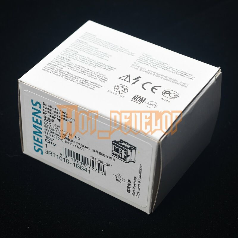 SIEMENS New Contactor 3RT10161BB41 3RT1016-1BB41 Free Shipping