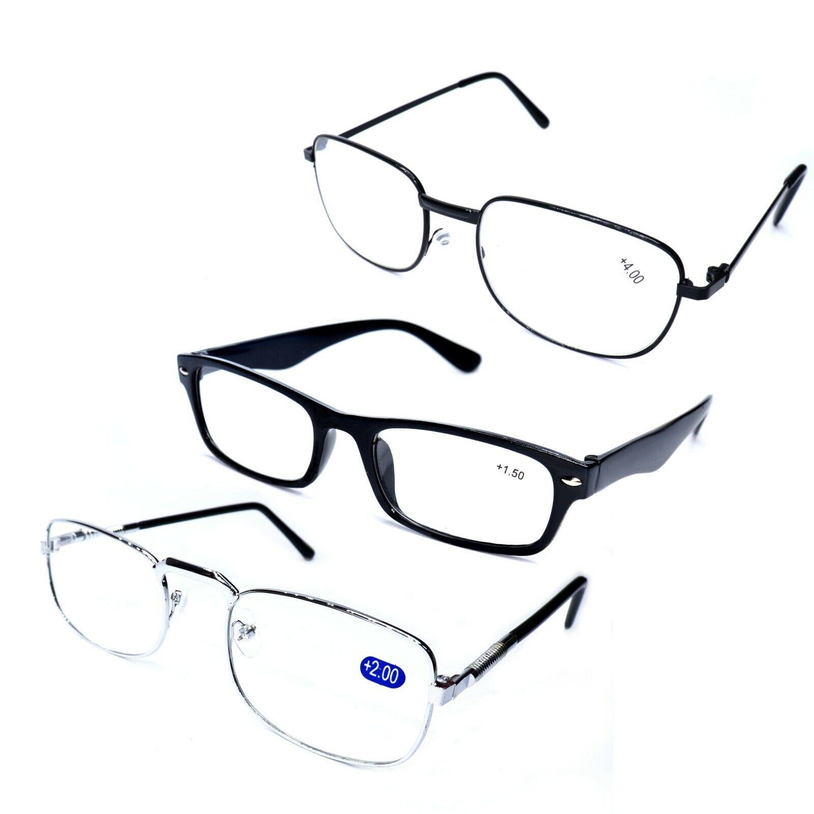 1-10 Brille Lesebrille verschiedene Modelle        +1,0+1,5+2,0+2,5+3,0+3,5+4.0