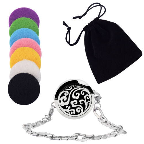 Clouds Aromatherapy Essential Oil Diffuser Bracelet Stainles