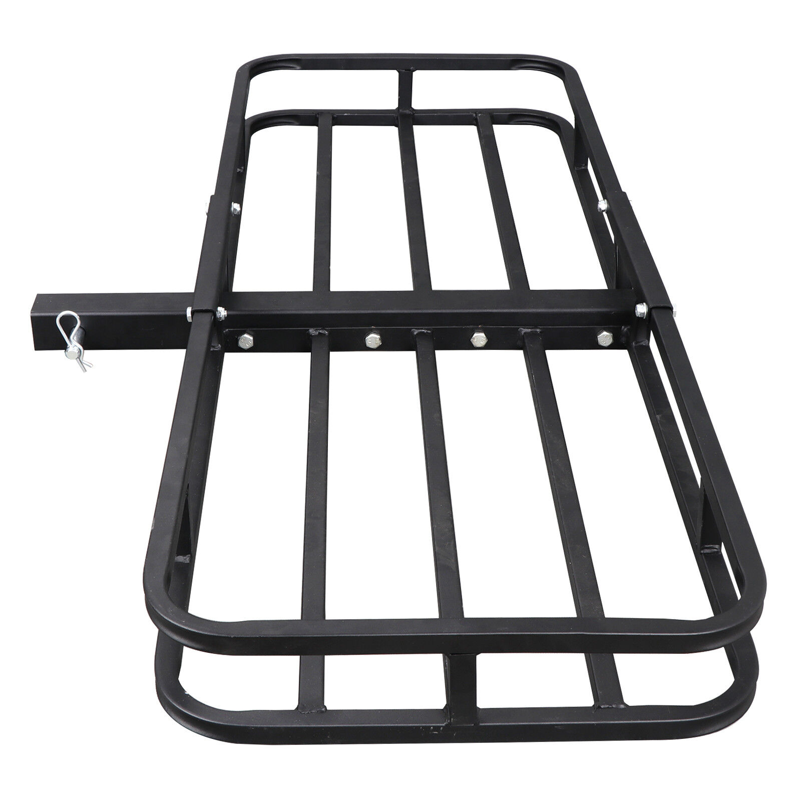 53″x19″ Carrier Basket Rack Hitch Mount Cargo Hauler Luggage 2″ Hitch Receiver Car & Truck Parts