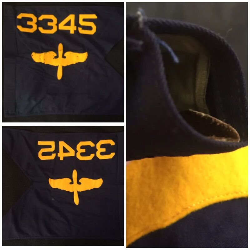 WWII M1931 US Air Force Guidon; 3345th Air Base Group, USAF; Chanute AFB, 1948