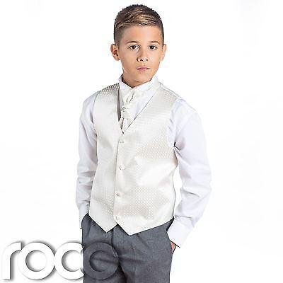 � Grau Anzug Jungen Hochzeitsanzüge, Diamant (Grau Jungen Anzüge)