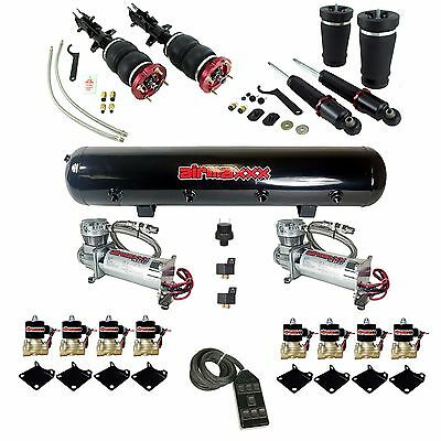 Air Lift Performance Air Bag Suspension Compressor Valve Tank 7 Switch Mustang