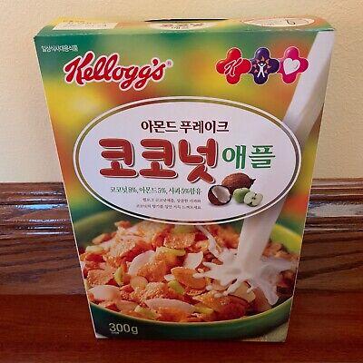Kelloggs Cereal Box, Japan, Coconut & Apple, 2005